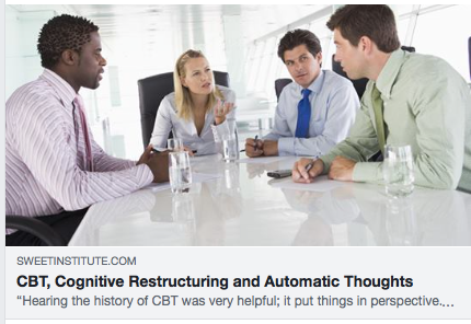 CBT, Cognitive Restructuring and Automatic Thoughts