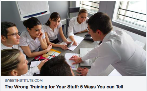 The Wrong Training for Your Staff: 5 Ways You can Tell