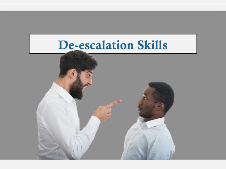 SWEET Institute- De escalation Skills