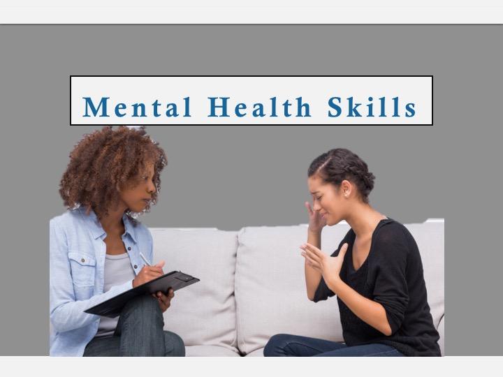 SWEET Institute Mental Health Skills