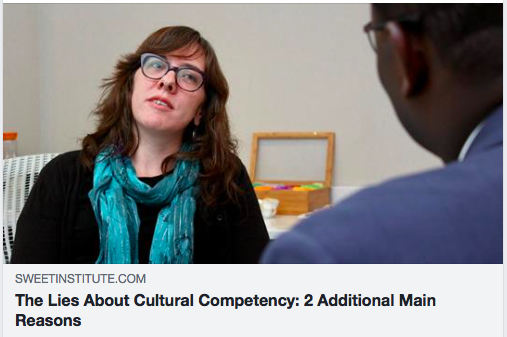 The Lies About Cultural Competency: 2 Additional Main Reasons