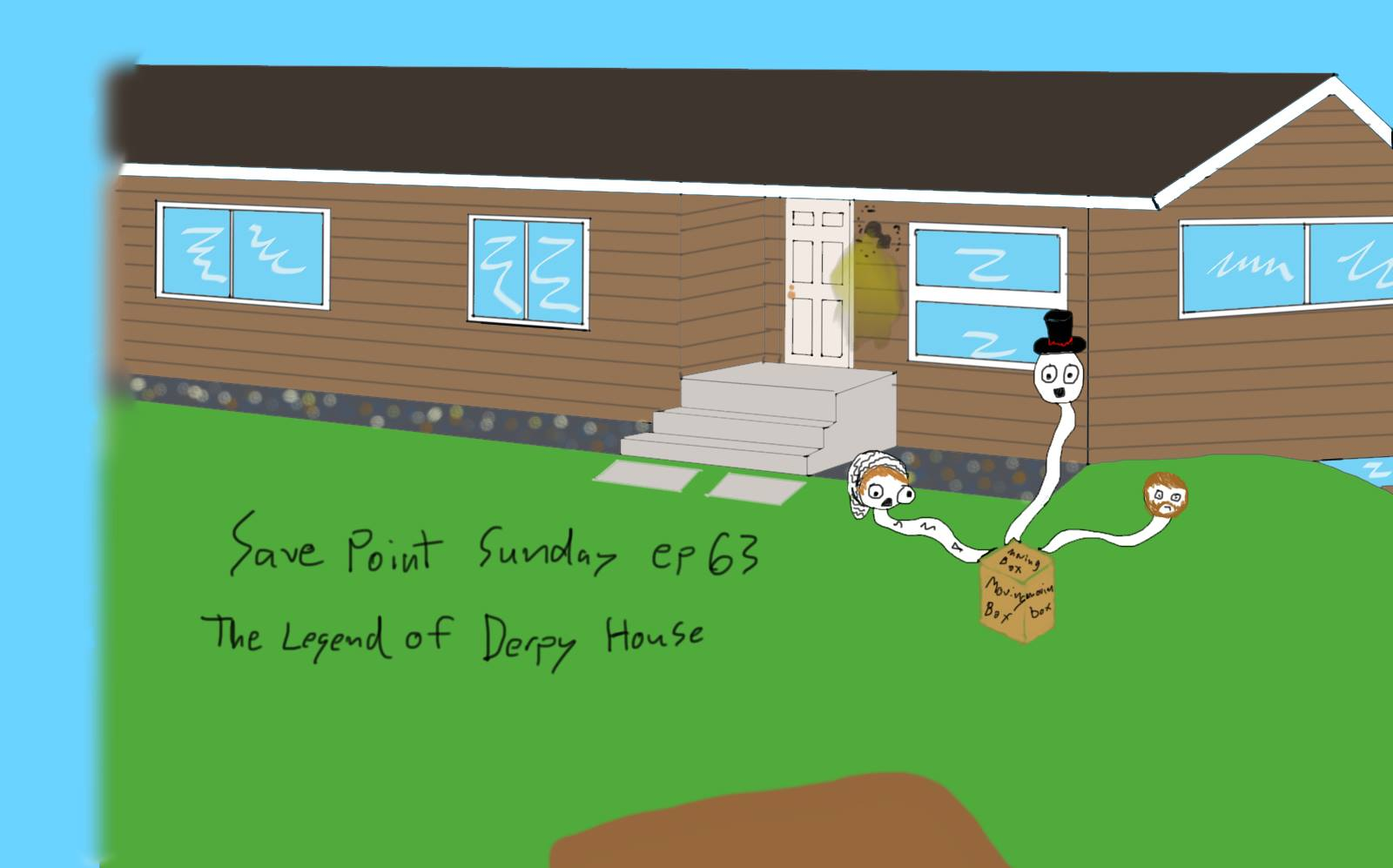 Episode 63: The Legend Of Derpy House
