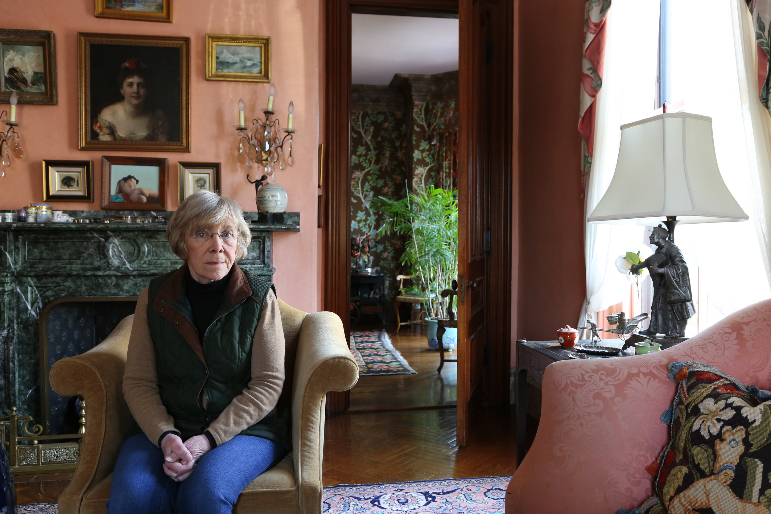 Consuelo Isaacson , a community organizer who fled Cuba in 1960. Feb. 1, 2019, in Cambridge, Massachusetts. ( The GroundTruth Project )