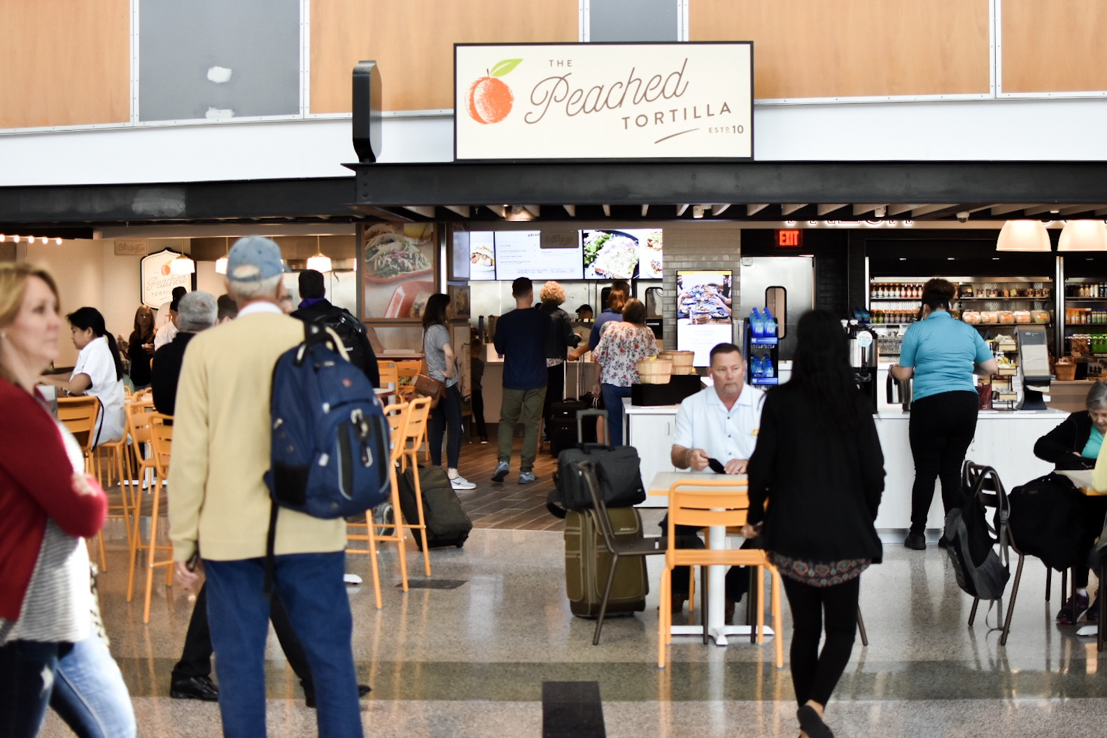 Peached Tortilla Airport Location