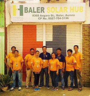 BALER SOLAR HUB - 368 Angara St., Baler, AuroraTel: +63 916 342 8307