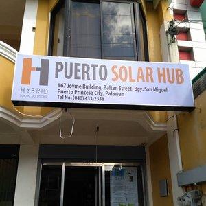 PUERTO PRINCESA SOLAR HUB - #67 Jovine Building, Baltan St., Barangay San Miguel, Puerto Princesa, PalawanTel: +6348 433 2558