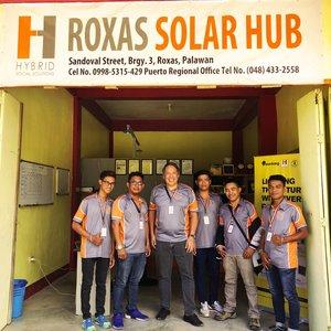 Roxas solar hub - Sandoval St., Barangay 3, Roxas, PalawanCel. +63 998 531 5429