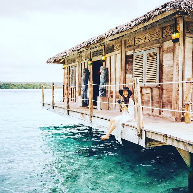 Of all the islands to explore, Ratua is definitely one of our favourites 🌴 📷@msannmarieyuen . . . . #DiscoverSanto #DiscoverVanuatu #Vanuatu #EspirituSanto #ratua #resort #tropicalvacation #pacificparadise #southpacificislands #balinese #instagood #igdaily #islandlife #resortlife #theglobewanderer #exploremore #goatisland #purepacific #thegoodplace