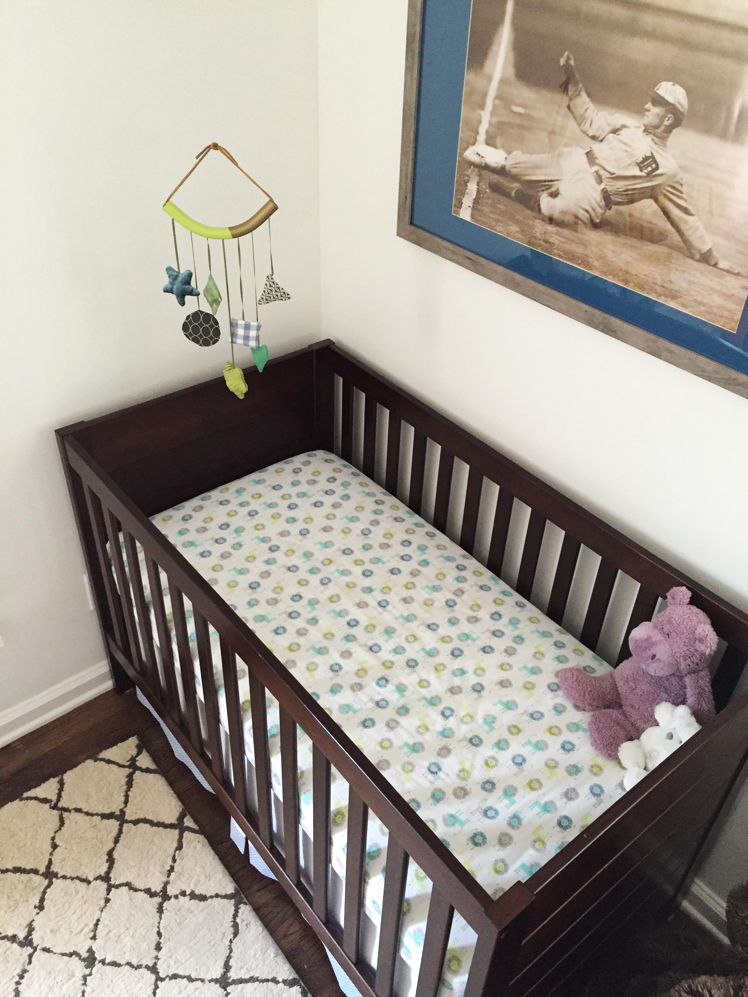 baby boy crib and mobile.JPG