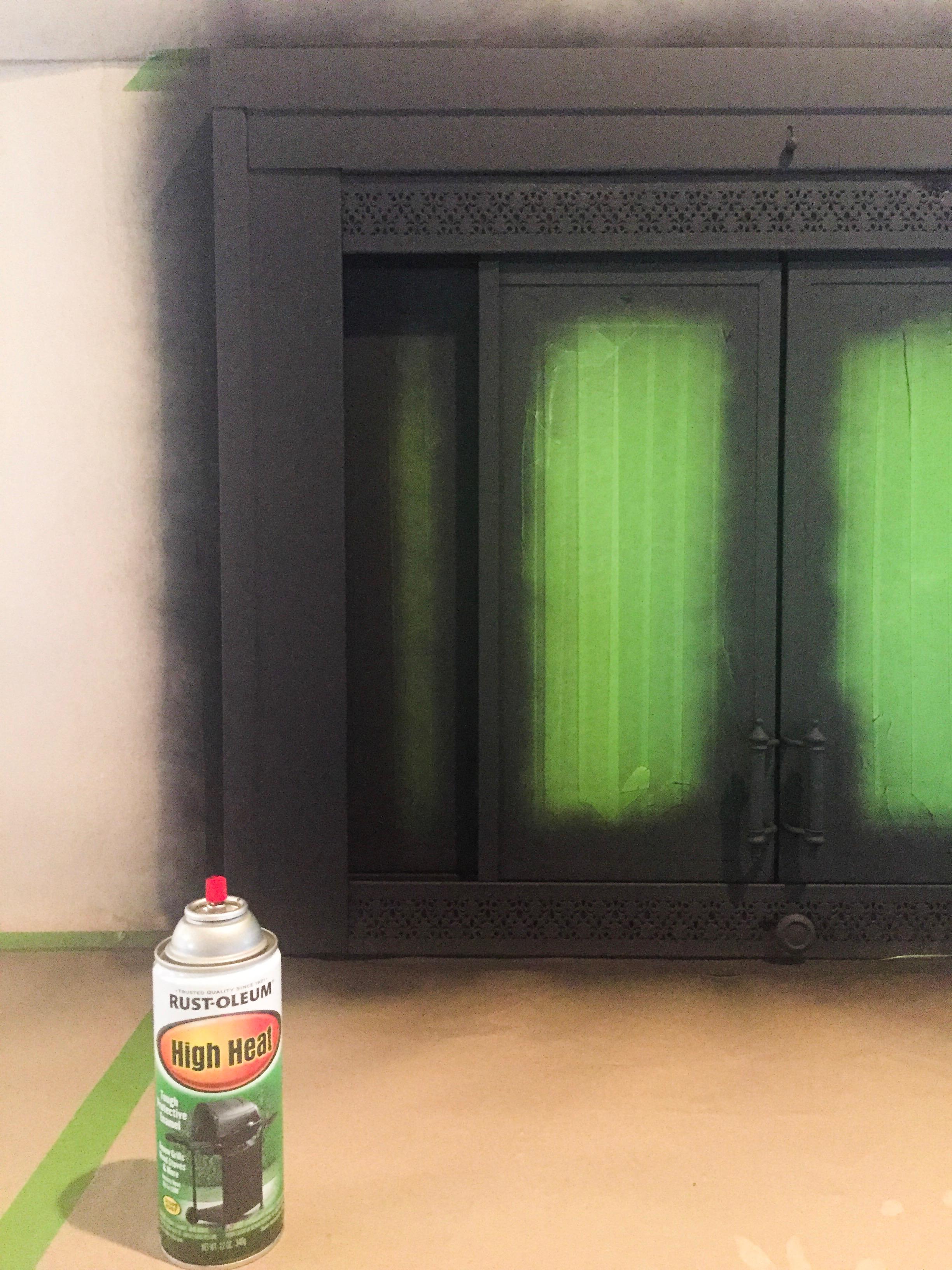 Fireplace Spray Paint.JPG