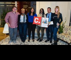NOV 2016   Featured Speaker at  Change.org Clemency Discussion    (L-to-R John Perri, Sharonda Jones, Brittany K. Barnett, Ebony Underwood, Jason Hernandez, Amy Povah)
