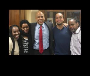 NOV 2016   Underwood Siblings meet with U.S. Senator Corey Booker