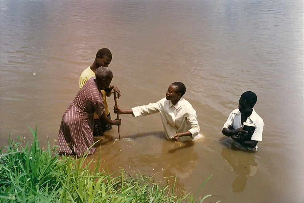 Baptism in Mozambique