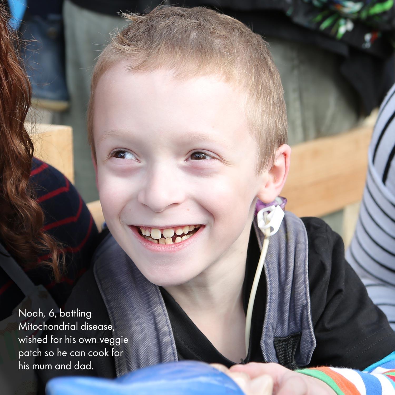 Smiling boy Noah