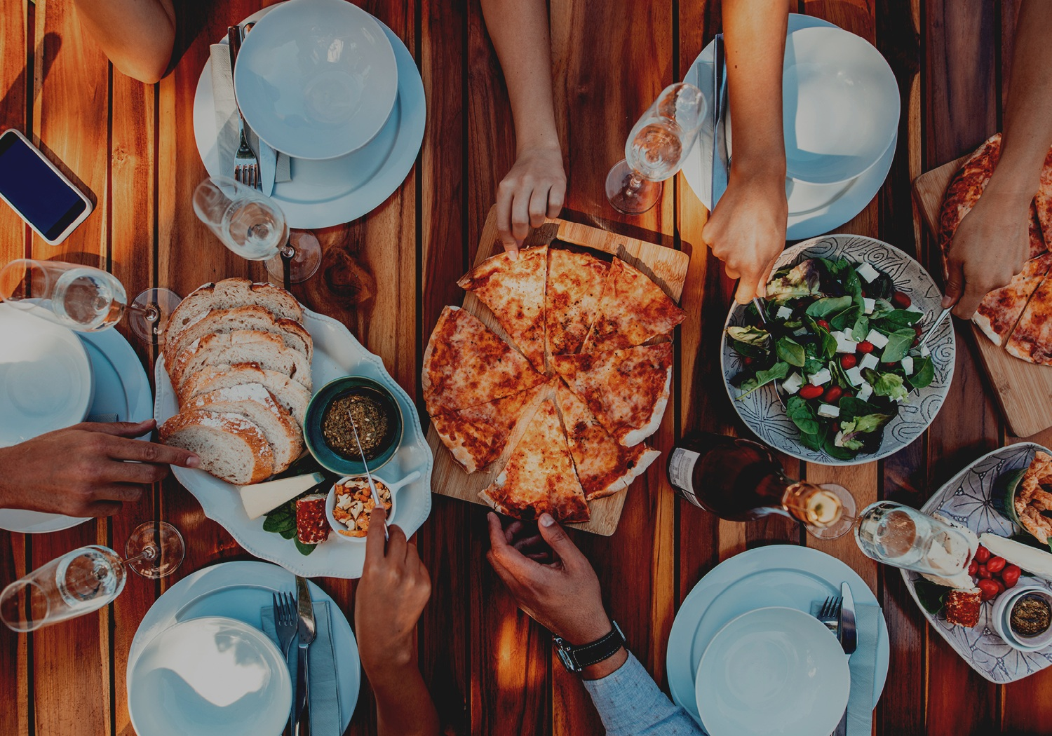 Your dinner party can help  bring a sick child's family together