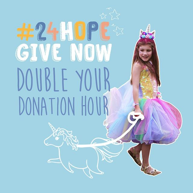 *DON'T MISS OUT!* Every dollar donated right now will be DOUBLED, thanks to our campaign partner Watermark Search International - for ONE HOUR ONLY! Donate to have your donation matched, up to $2.5k. But be quick, it's only until 8pm AEST! Follow link in our bio. #24HOPE