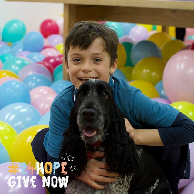 We bought Fraser and Ziggy together all the way back in 2015. With just one hour left, please help more kids get their life-changing wish too. Donate via link in bio #24HOPE