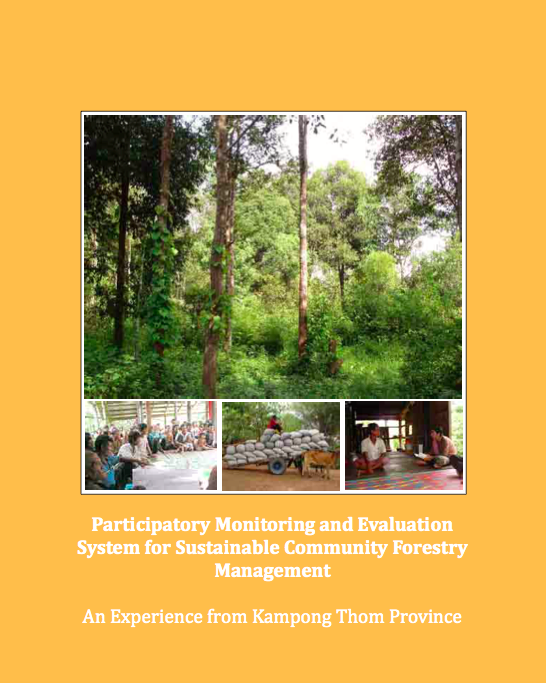 Participatory monitoring and evaluation system for sustainable community forestry management (2008).png