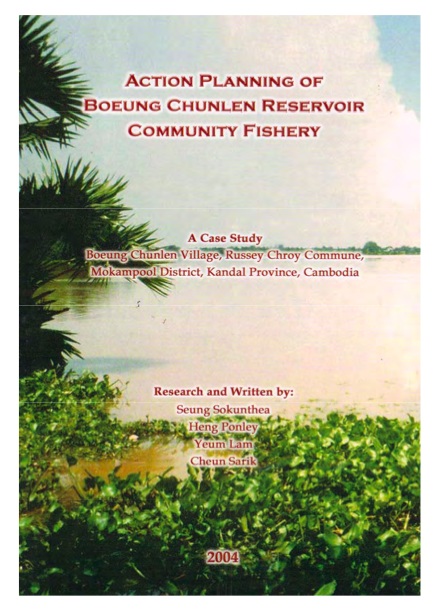 Action planning of Boeung Chunlen reservoir community fishery (2004)