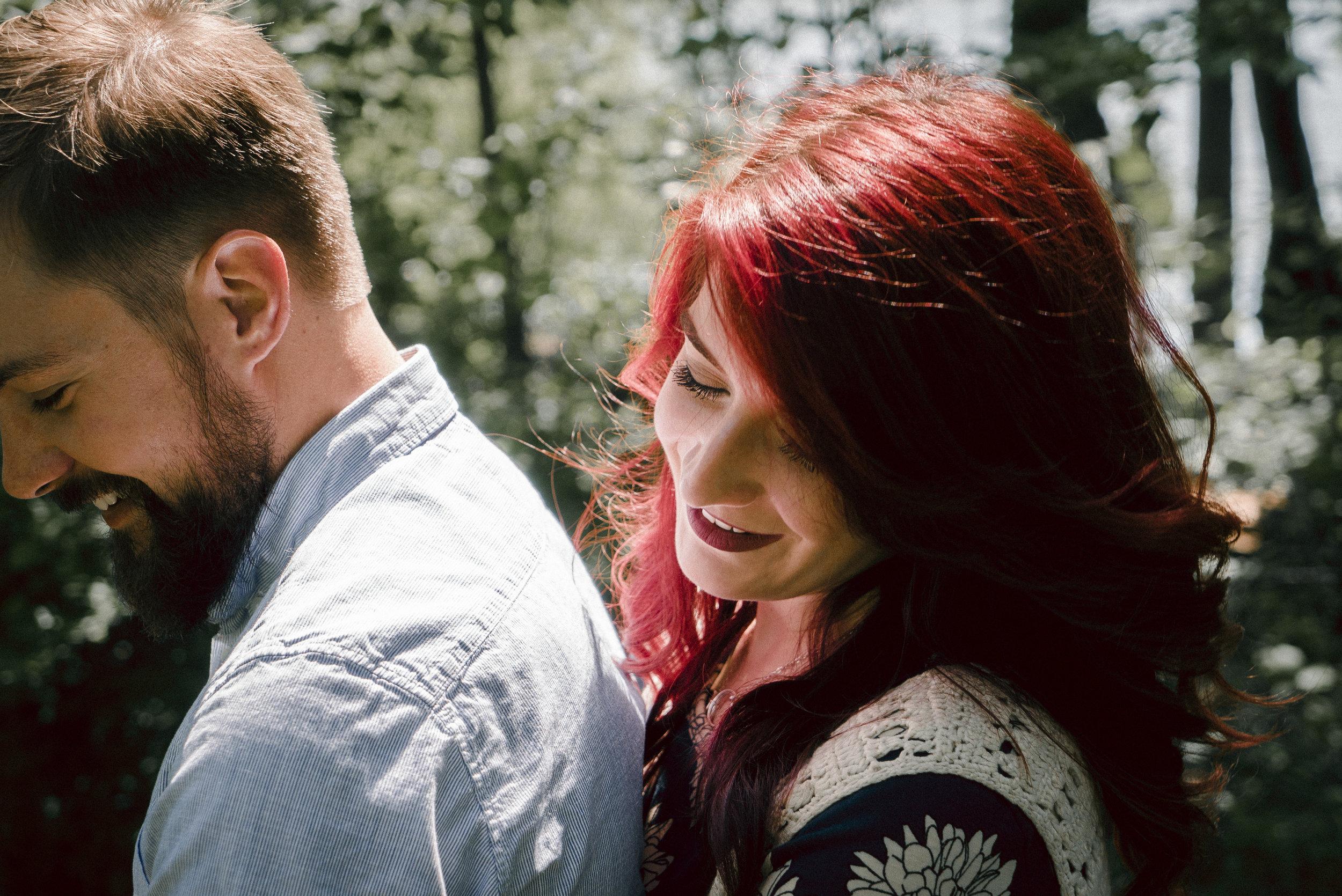 Sean & Amber - Engagement photos shot at Stumpy Lake in Virginia Beach, Virginia