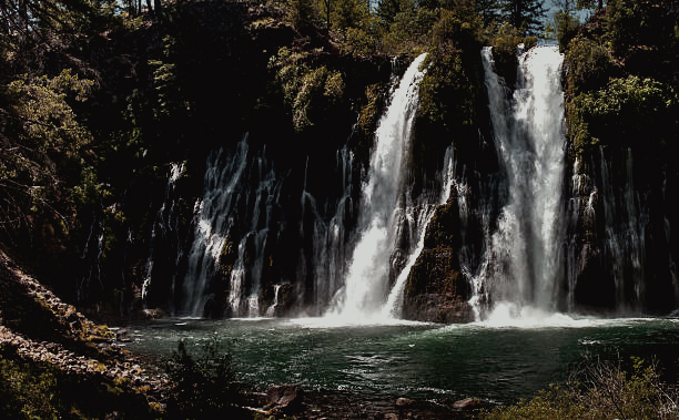 mcArthur-burney falls, california -