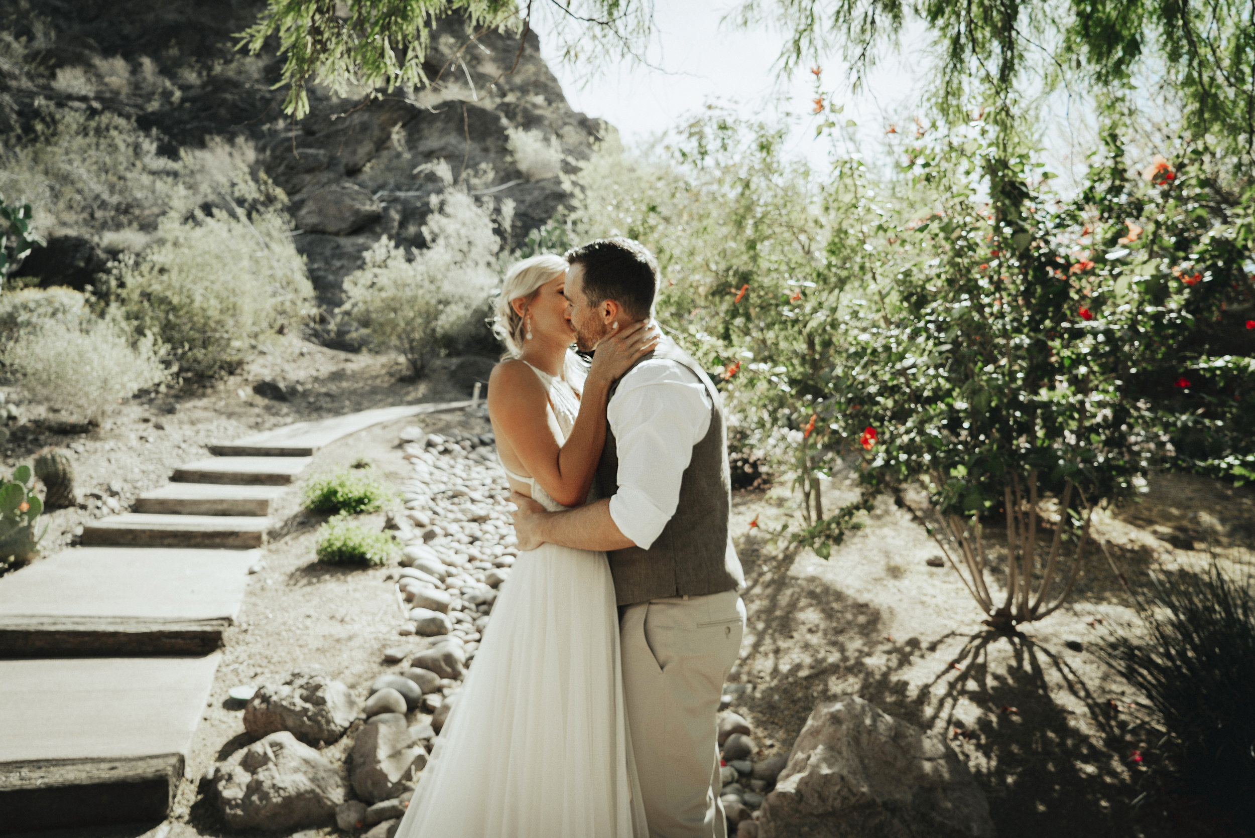 Chelsea & Cooper - These animal lovers' wedding at Liberty Wildlife sanctuary