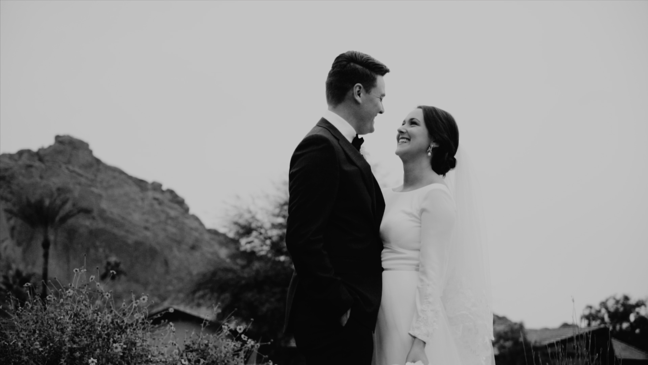 Maggie & andrew - A new years wedding at the charming Mountain Shadows resort in Paradise Valley, Arizona