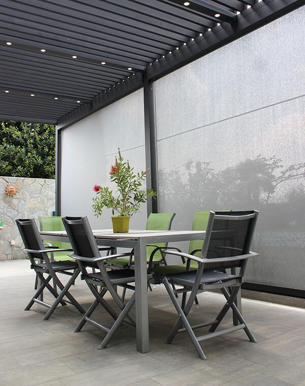 modern conservatory living
