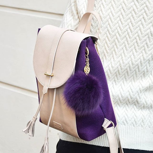Cute Indigo purple backpack - it is a must have :) . . . #ttwinnlondon #ttwinn #backpack #backpacks #backpackatyle #backpacking #violet #purplemood #purple #londonstyle #londonfashion #fashionistastyle #fashion #ttwinnbags