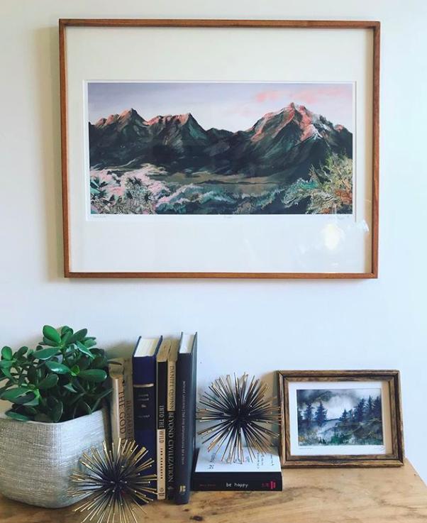 Original paintings & framed prints -