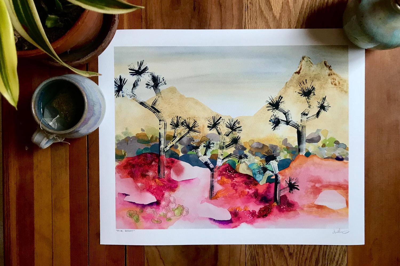 """Pink Desert"""