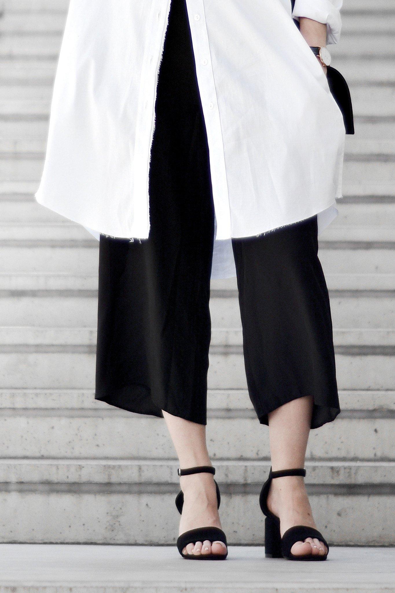4. Culottes - Je weiter, desto besser. Breite Hosenbeine sind das neue modische Motto dieses Jahres zu sein. Skinny ist vorbei.(Clémence – Odette Silk Culotte)