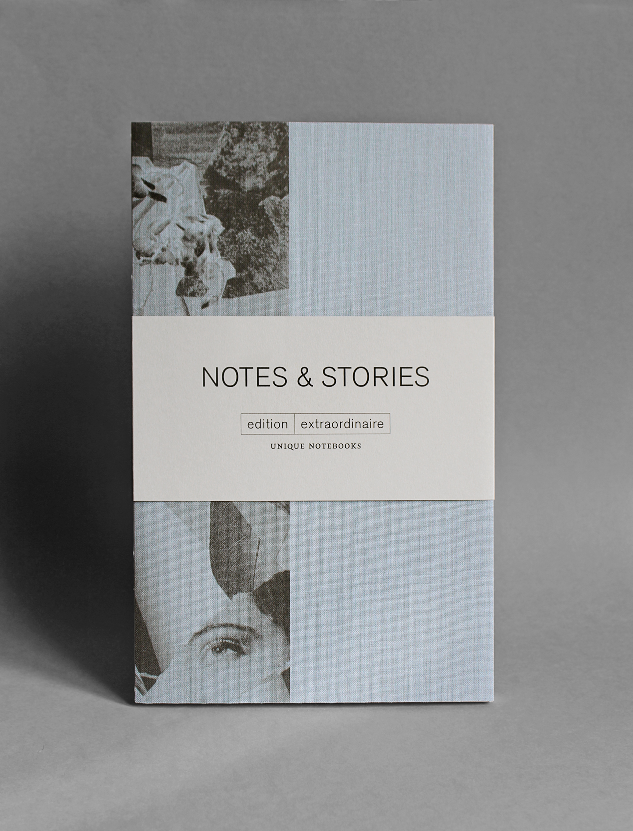 NOTES & STORIES - each notebook is a unique, hand-bound and printed book