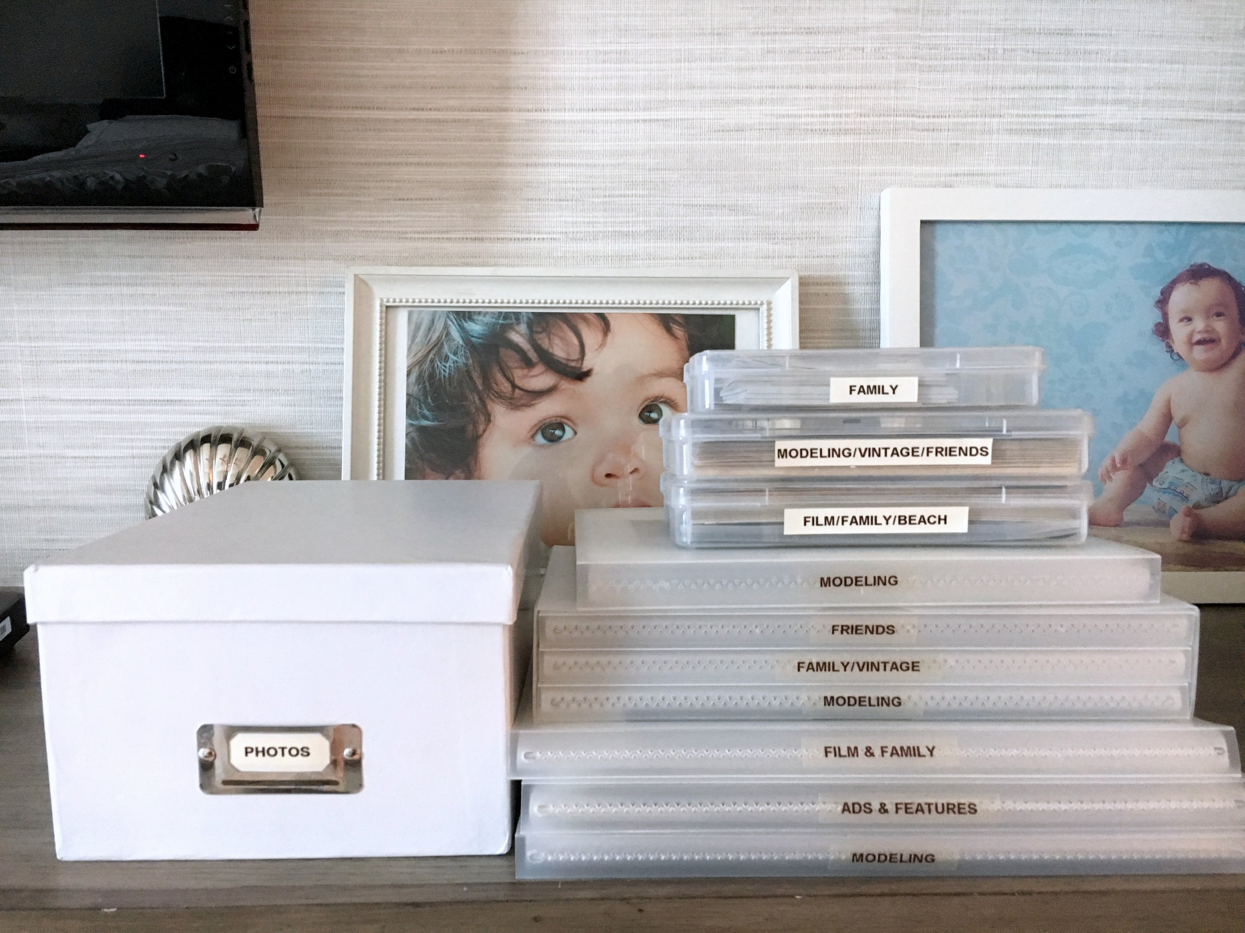 archival safe photo storage