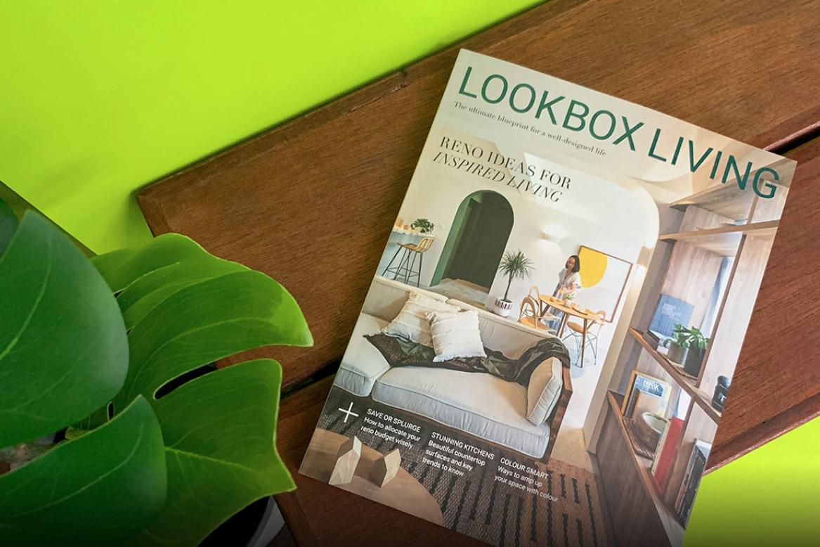 LOOKBOX LIVING ISSUE #59 MAY- JULY 2019, GERHANA