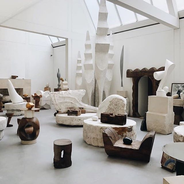 Atelier Brancusi is the first on the list of exhibitions we want to see next here in Paris. Now Its time to reorganized ideas and start researching for the inspiration of next FW20 collection while at the same time we coordinate the SS20 production which we are very excited about!  #atelierbrancusi #paris #aeneisparis #aestheticedits #brancusi