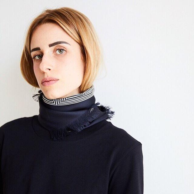 Essential 🖤 - #aeneisparis #silkscarf #ethicalfashion #styleinspo #minimalstyle