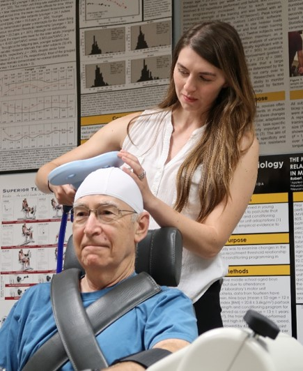 #1: Project M.N.O.P. (UCF IRB #SBE-18-14657) - Why are we doing this study? To determine if observing strong or weak muscle contractions of the hand and wrist affect muscle strength.Who can participate? Healthy men and women ≥ 60 years of age.Who can't participate? Major exclusion criteria include (but are not limited to) individuals that lack transportation, have a history of disease and/or major medical complications, and use medications that may affect muscle performance.Time commitment: 4, ≤2 hour visits to the laboratoryCompensation available?: Yes, $50 in the form of gift cardsPrincipal Investigator: Dr. Stock