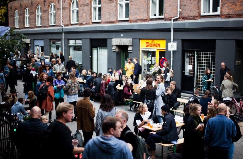 Street of Møllergade @Reverse Fesival