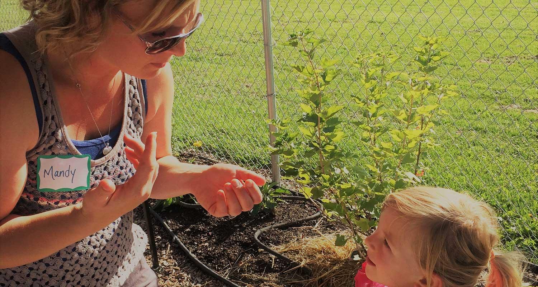 SCHOOL GARDENS - Photo by Garden City Harvest Staff