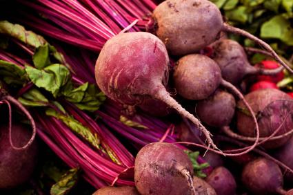 Beet, Carrot, Feta Lentil Salad -