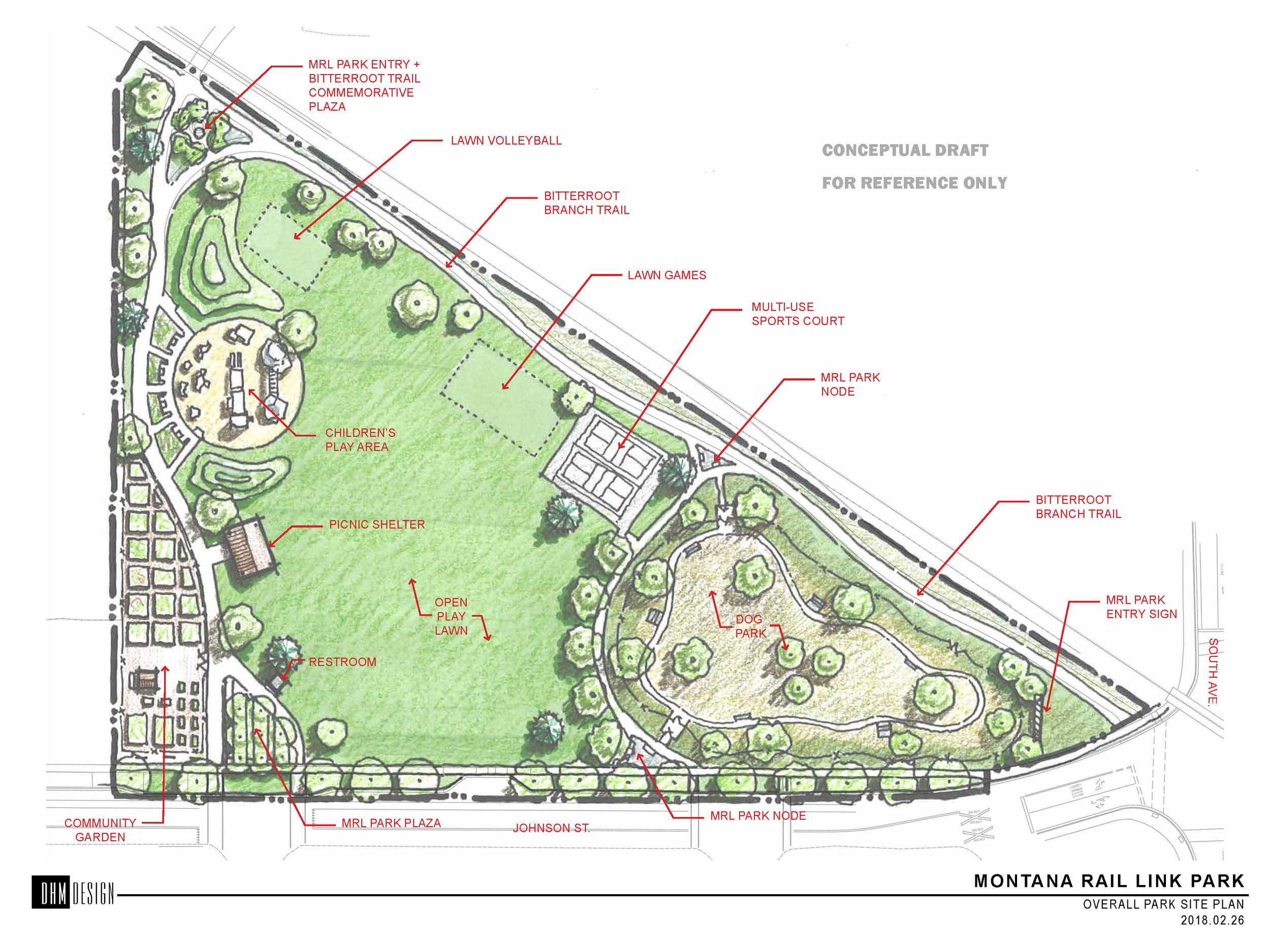 About 40 neighborhood residents joined the Park Design Workshop in 2017 to help design the new park. The workshop allowed residents to share their long-range vision for the new park, which included a community garden!