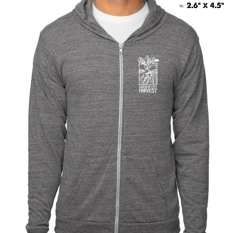 Lightweight sweatshirt front