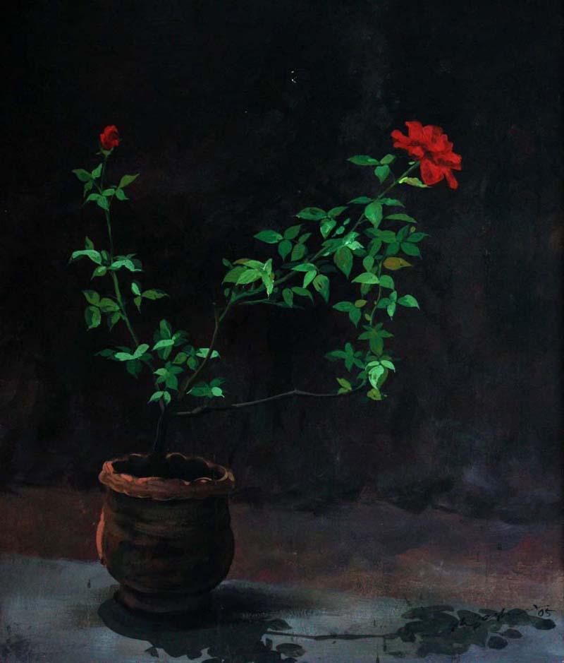 Untitled  Acrylic on Board - 2005