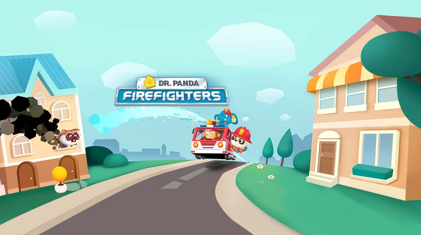 Dr. Panda Firefighters - A firefighting 'simulator' where kids can experience and understand the everyday life of a firefighter.My work was focused on the level design of the burning houses, creating opportunities for the children to save the animals.