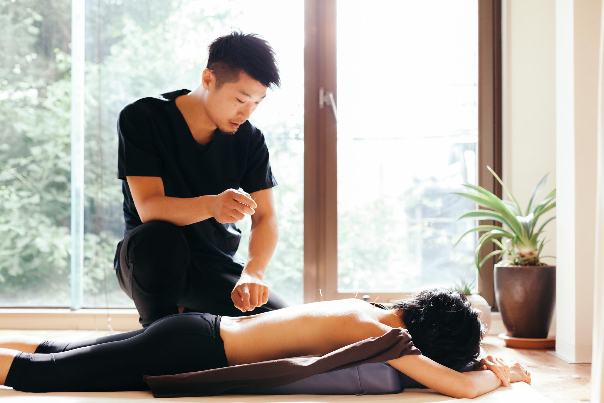 - Acupuncture