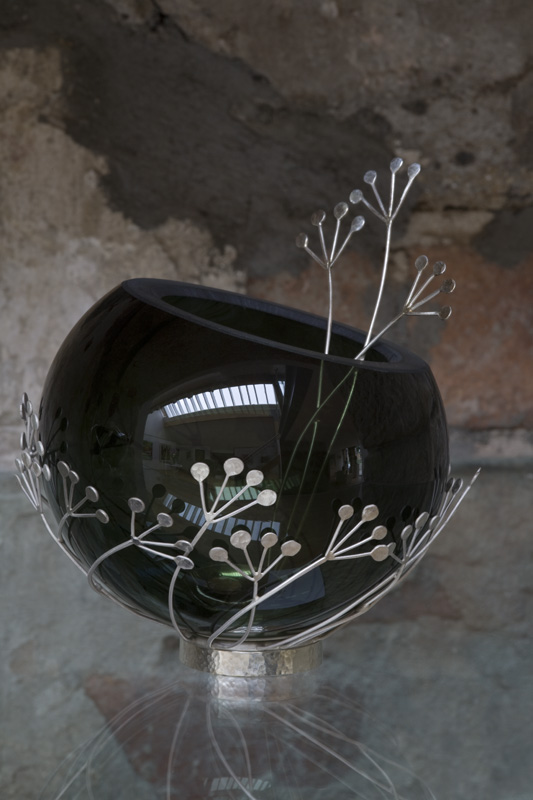 seed head bowl and spoon