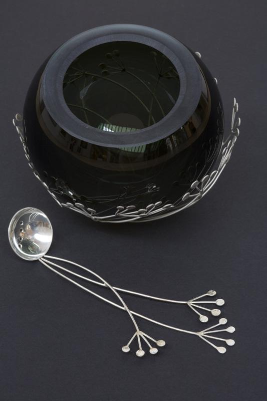 Seedhead Bowl and Spoon