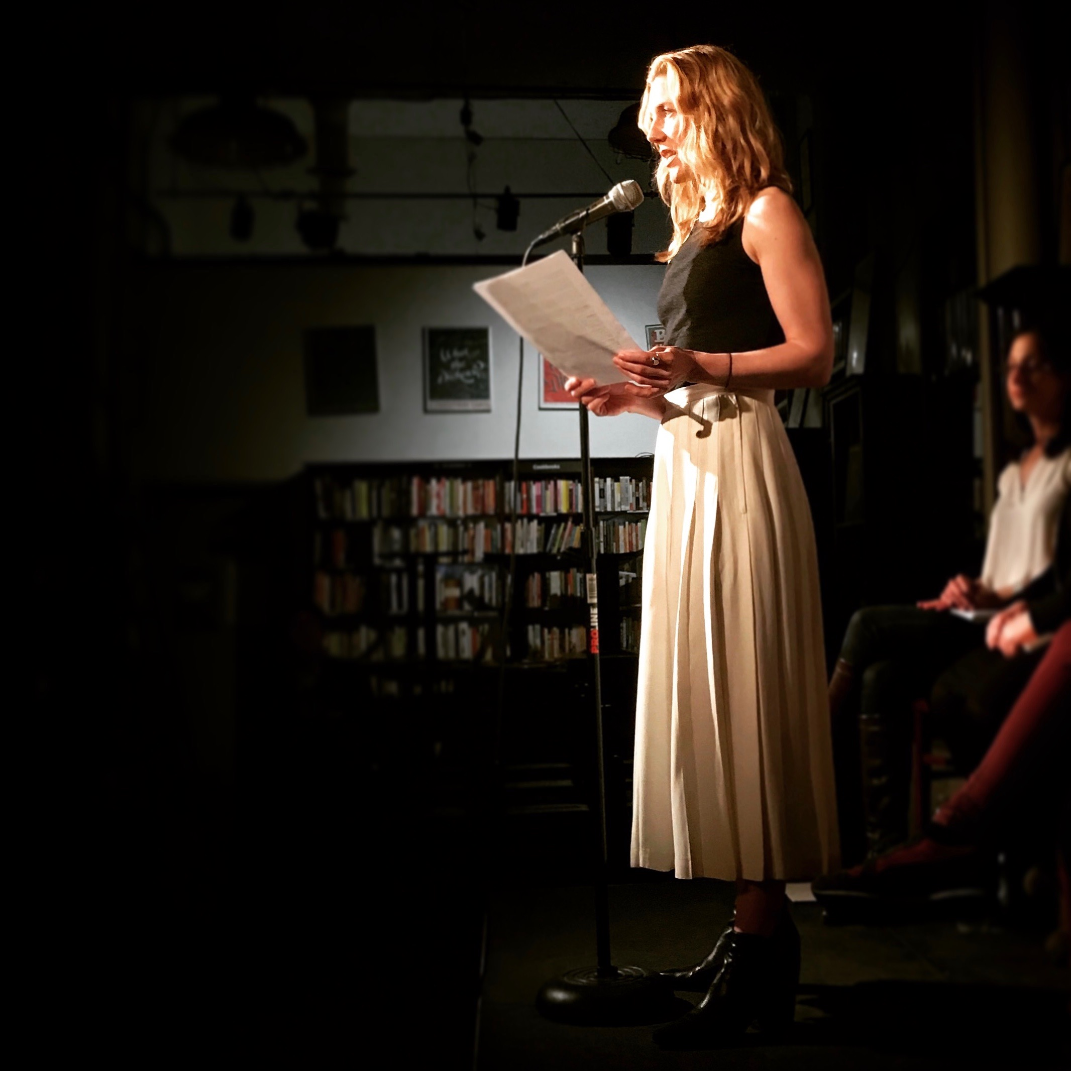 Reading at Housing Works