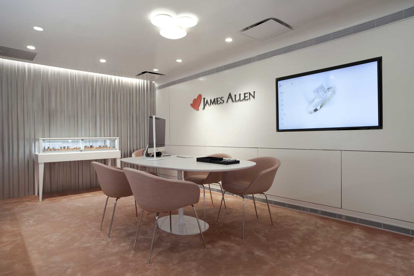 JAMES ALLEN JEWELRY SHOWROOM -